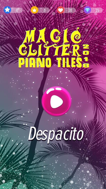 Glitter Piano Tiles Magic screenshot-2