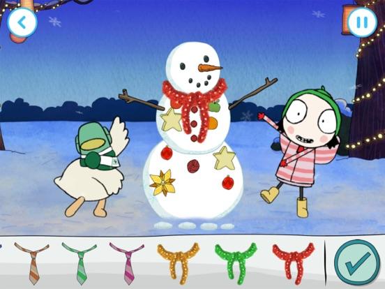 Sarah & Duck: Build a Snowman screenshot 8