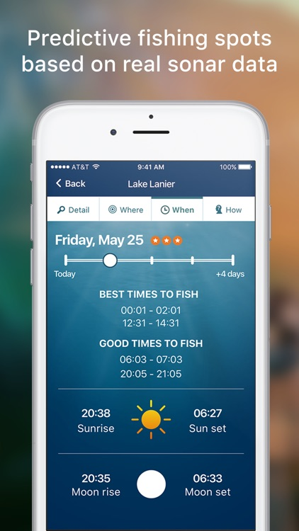Netfish - Fishing Forecast App screenshot-0