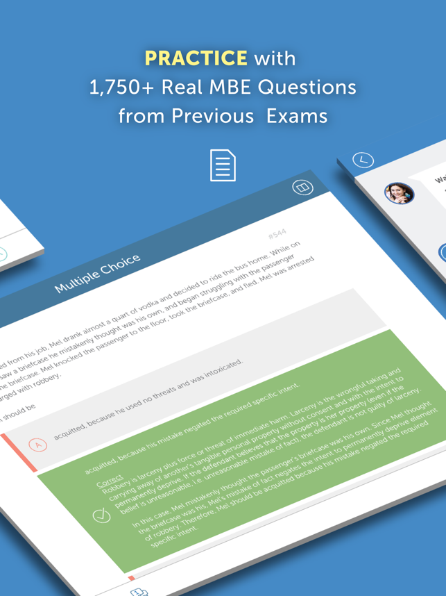 BarMax Bar Exam, MBE & MPRE Screenshot