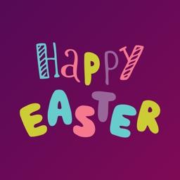 Happy Easter Bunny Sticker App