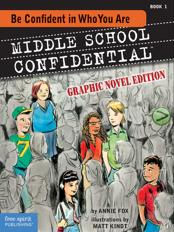 Middle School Confidential 1: Be Confident in Who You Are screenshot