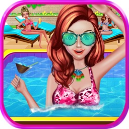 Summer Girl Crazy Pool Party
