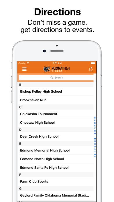 Norman High Athletics screenshot 4