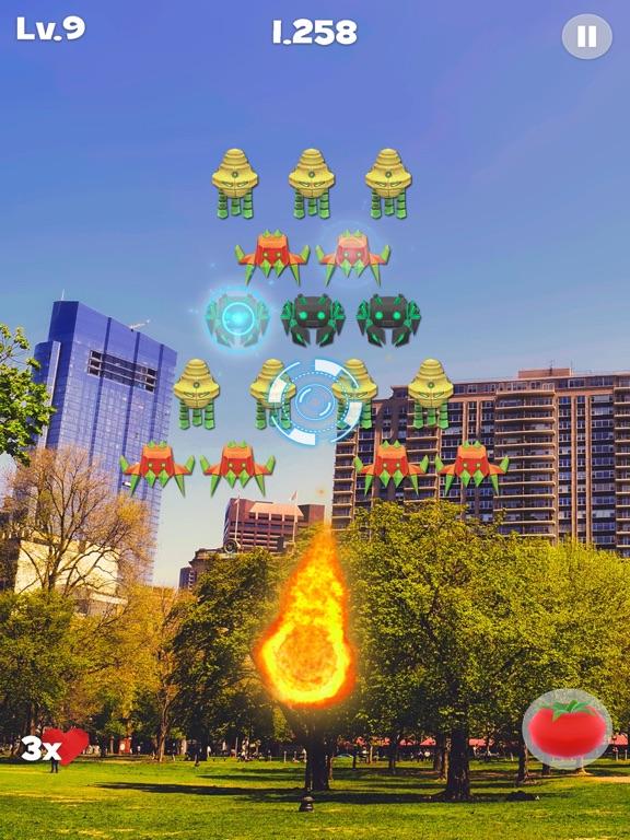 Space Alien Invaders AR screenshot 4