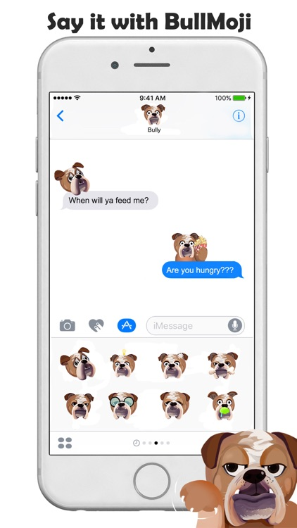 BullMoji for Bulldog Lovers