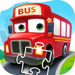 宝宝汽车游戏-卡车巴士游戏大全