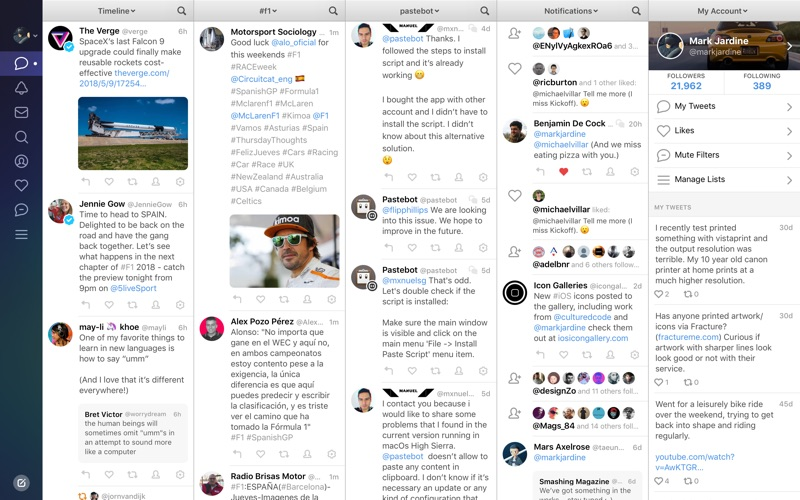 Tweetbot 3 for Twitter app image