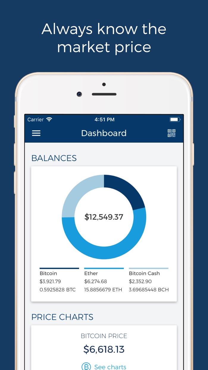 Blockchain Wallet: Bitcoin Screenshot