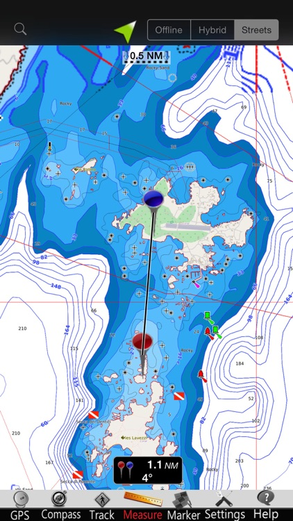 Corsica GPS Nautical Charts screenshot-2