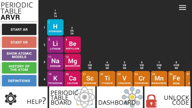 Periodic table arvr on the app store urtaz Images
