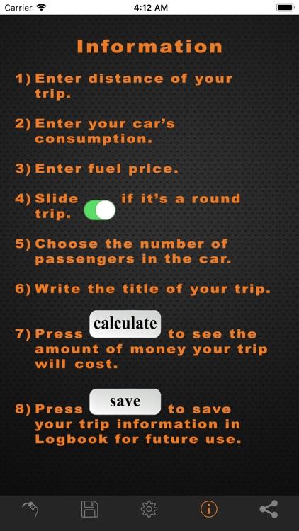 Fuel Cost Calculator Pro screenshot-3