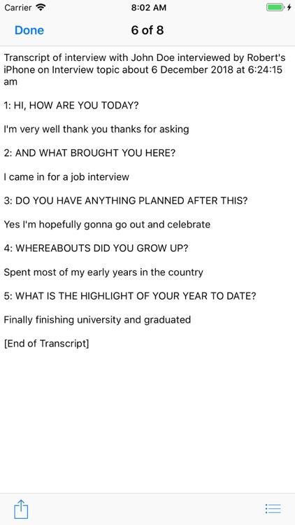 Our Interview screenshot-7