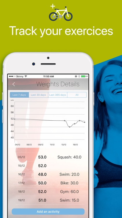Weight Tracker, BMI calculator