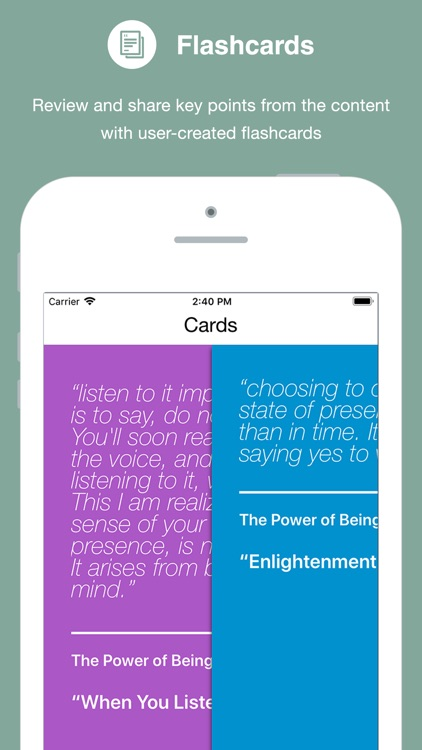 Power of Now Inspiration Deck screenshot-3