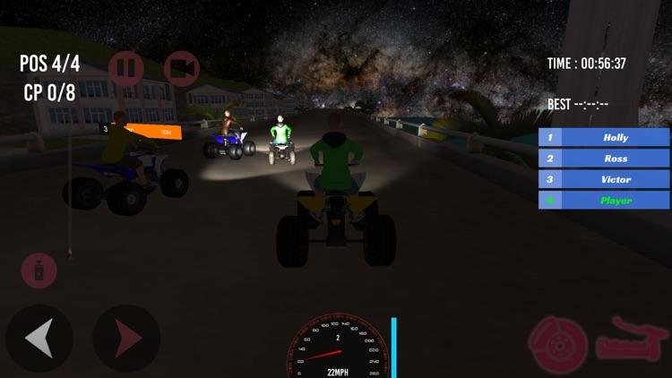 Super ATV Quad bike racing 3D screenshot-3