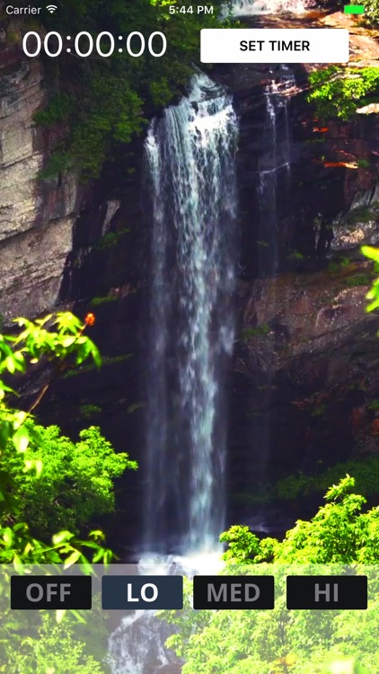 Bed Time Water Fall - White Noise Sleep Sounds Aid