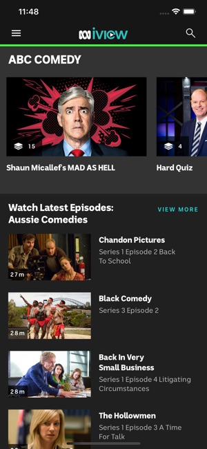 abc iview on the app store. Black Bedroom Furniture Sets. Home Design Ideas