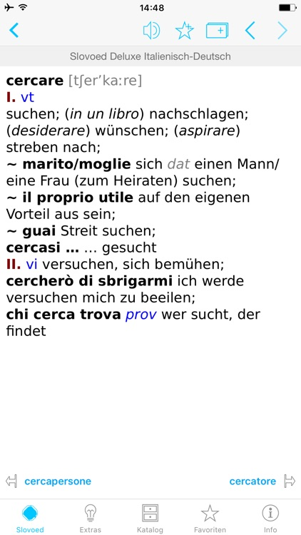 German <> Italian Dictionary
