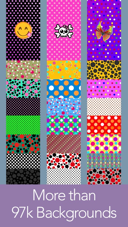 Polka Dot my Screen! Wallpaper & Backgrounds screenshot-2