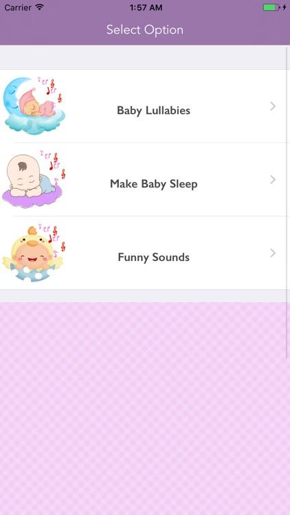 Baby Sleep Sounds - Shush App screenshot-3