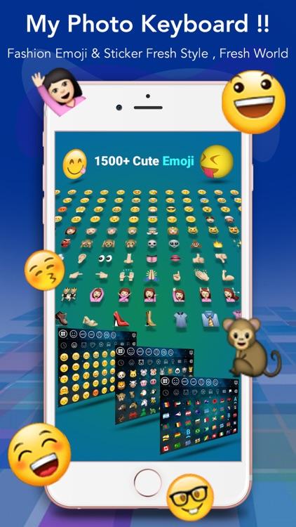 My Photo Keyboard - Emoji Key screenshot-3