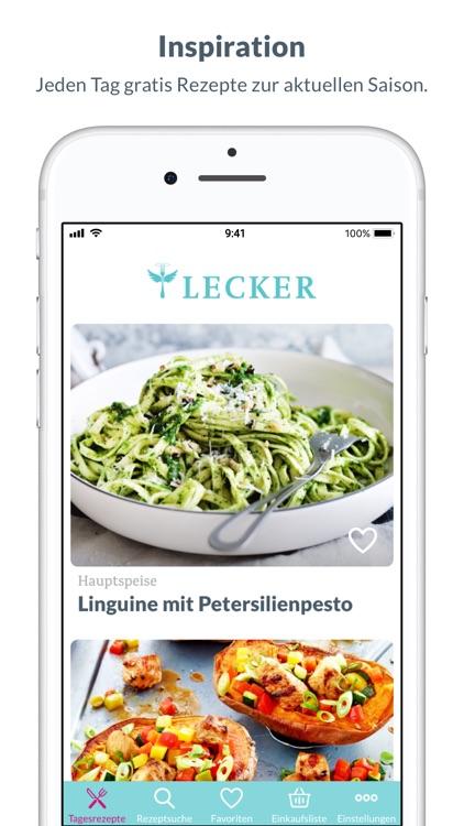 Lecker - Rezepte für jeden Tag screenshot-0