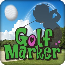 Golf Marker with Score Card