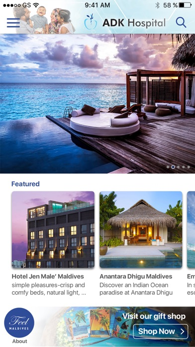 Feel Maldives screenshot