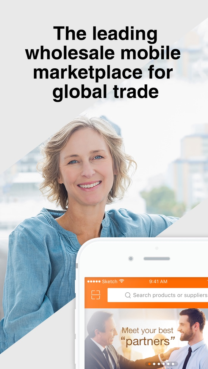 Alibaba.com B2B Trade App Screenshot