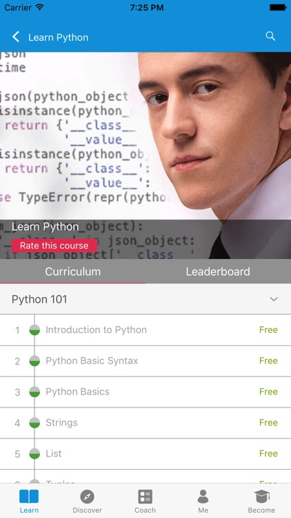 Learn Python by GoLearningBus