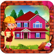 Activities of Girl Pink House Construction