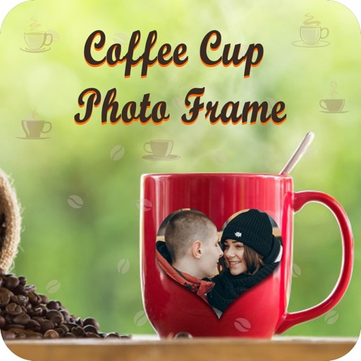 Coffe Cup Photo Frame