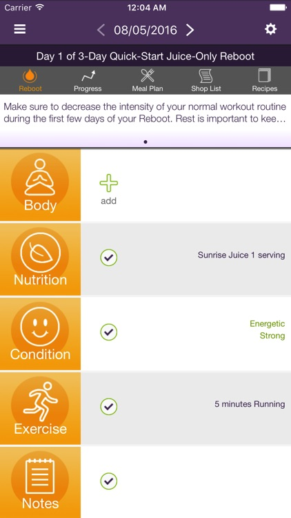 Reboot with Joe Juice Diet App screenshot-0
