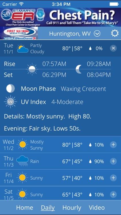 WSAZ Weather