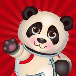 Panda Emoji Stickers - Pack
