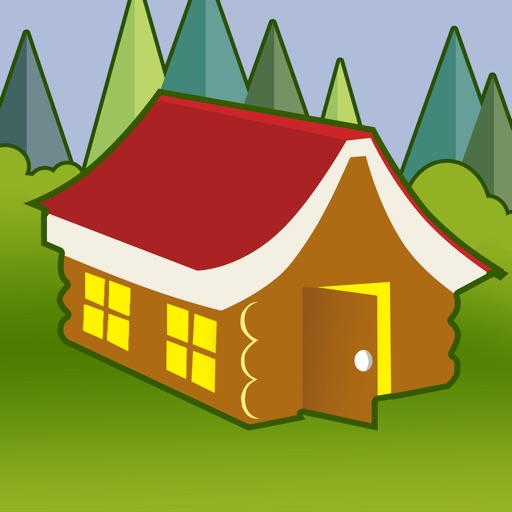 Reading Log Cabin