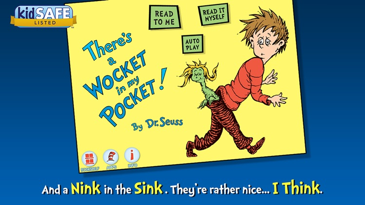 There's a Wocket in My Pocket! - Dr. Seuss