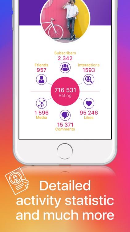 Diamond Stat for Instagram screenshot-3