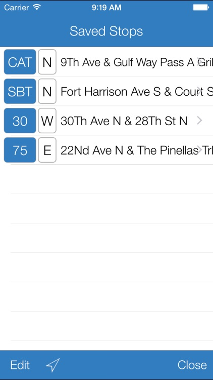 Transit Stop: PSTA Bus Tracker screenshot-2