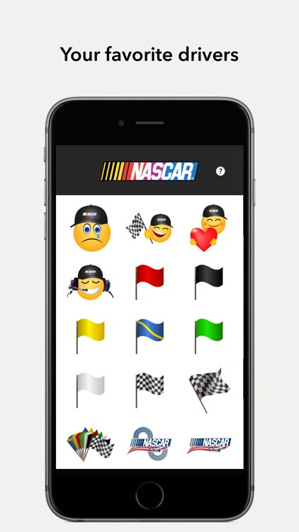 NASCAR Emoji Garage screenshot-1