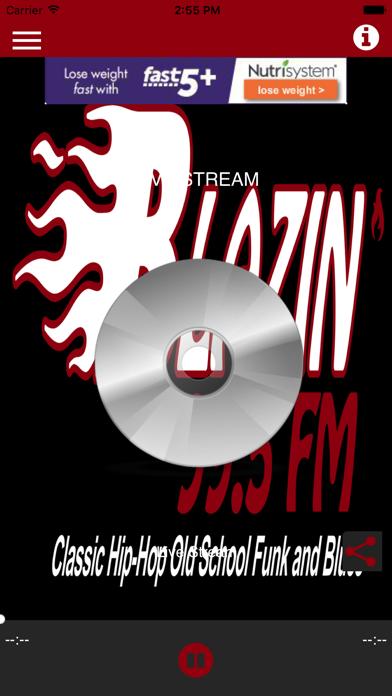 WETX Blazin' 99.5 FM screenshot one