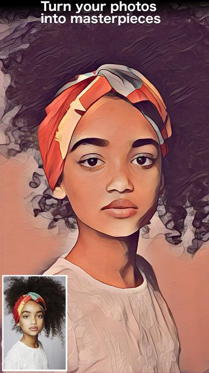 Painnt - Art & Cartoon Filters screenshot-3