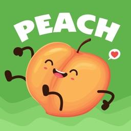 Peach Stickers