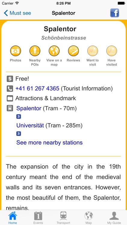 Basel Travel Guide Offline screenshot-4