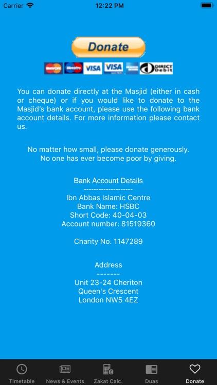 Ibn Abbas Islamic Centre screenshot-4