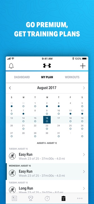 Map My Run By Under Armour On The App Store - Run calculator map
