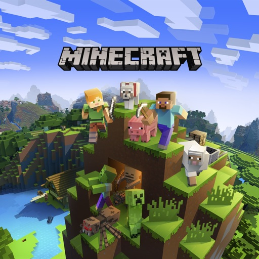 Minecraft app logo