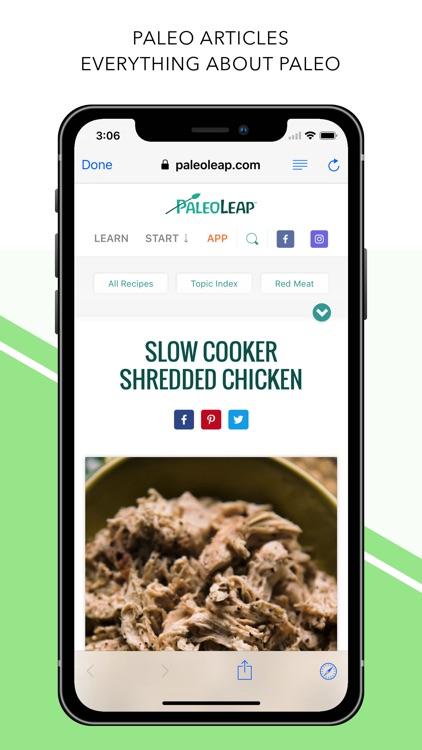 Paleo Diet - Food List screenshot-3