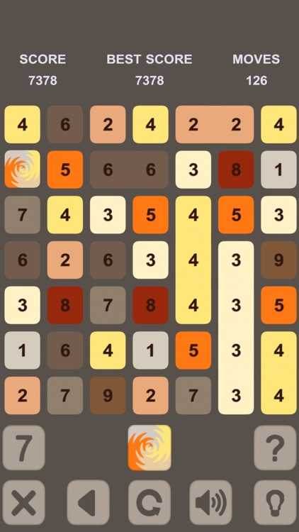 Numbers Puzzle. Get 10 screenshot-4